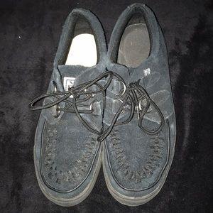 TUK creeper shoes black size 7 women 5 men's